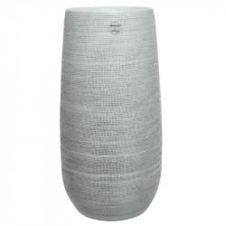 Golvvas med struktur, H: 40cm, Handgjord