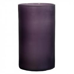 Glasvas i djup lila, 44 cm