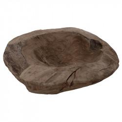Träskål i teak, Ø20 cm