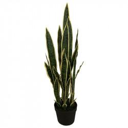 Svärmorstunga i kruka, 97 cm, konstgjord växt