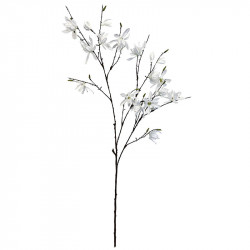 Magnoliagren, Vit, 153 cm, Konstgjord blomma