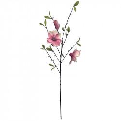 Magnoliagren, rosa, 90 cm, konstgjord blomma