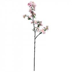 Körsbärsgren med blommor, 100 cm, rosa, konstgjord växt