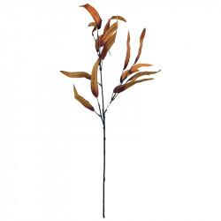 Eukalyptusgren, orange, H: 70 cm, konstgjord gren