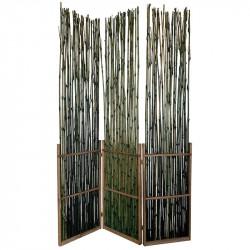 3-delad rumdelare bambu, 114 cm x 175 cm