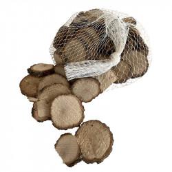 Ekträ i skovor till dekoration, 2-5 cm, 500 g