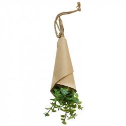 Kryddört, Oregano 25 cm i pappersomslag, konstgjord växt