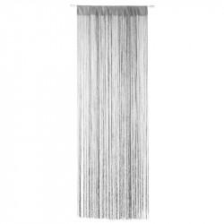 Niagara Trådgardin, 90 x 200 cm ljusgrå