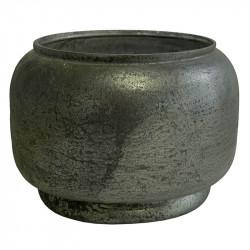 Vas och glaskruka, Small, Ø22cm, Frostad ljusgrön