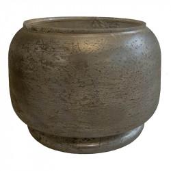 Vas och glaskruka, Large, Ø29cm, Frostad ljusbrun