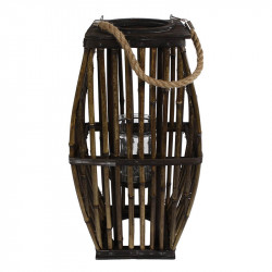 Lykta i bambu, 43cm