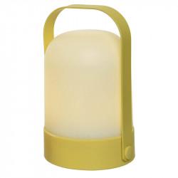 LED-bordslampa, Batteri, Gul, 18cm
