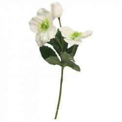 Julros, benvit, H:35 cm, konstgjord blomma