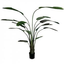Vit papegojväxt, H230cm, Konstgjord Växt