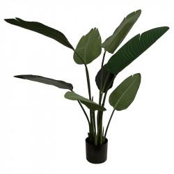 Vit papegojväxt, H120cm, Konstgjord Växt