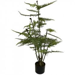 Ormbunke i kruka, 119cm, Konstgjord Växt