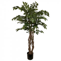Benjaminfikus i kruka, 140 cm, konstgjord växt