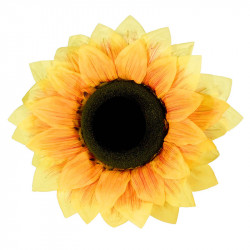 Solroshuvud, 50 cm, konstgjord blomma