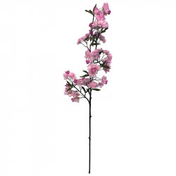 Äppelgren med blommor, 95 cm, rosa, konstgjord växt