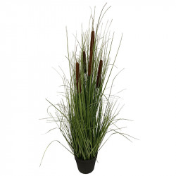Kaveldun i kruka, 113cm, Konstgjord Växt