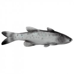 Liten Lax, grå, konstgjorda djur