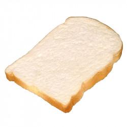 Skiva rostat bröd, konstgjord mat