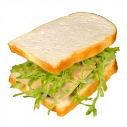 Grillad smörgås, konstgjord mat