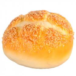 Brödbulle med socker, konstgjord mat