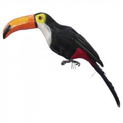 Tukan, H 25cm, konstgjorda djur