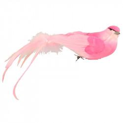 Fågel med klämma, konstgjorda djur