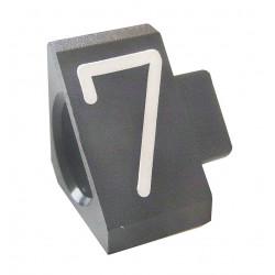 """Prisindex, Compact Midi """"7"""", Grå"""