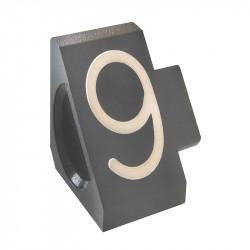 """Prisindex, Compact Midi """"9"""", Grå"""
