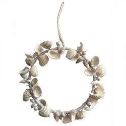 Krans av små strandsnäckor, Ø19cm - 2