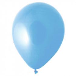 Ballonger, Kvalitetshelium 100 st i påse, Ljusblå