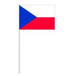 Flagga på plastpinne, Tjeckien