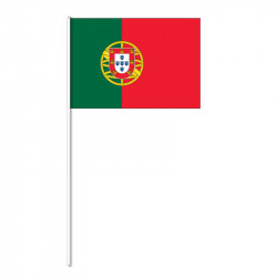 Flagga på plastpinne, Portugal
