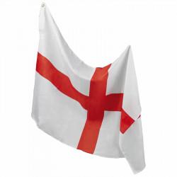 Flagga med snörhål, England
