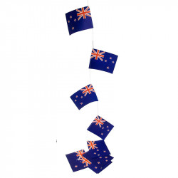 Flaggirlang, Nya Zeeland