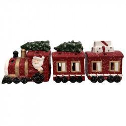 Jultåg med 3 vagnar