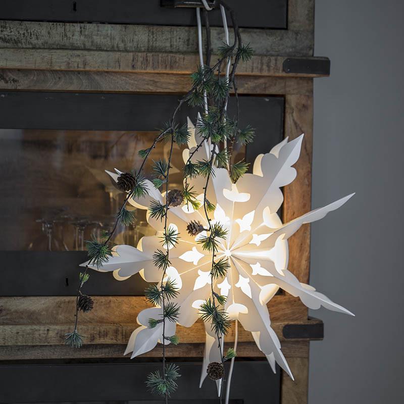 Snöflinga: Megane 109 till lampa med 3 m sladd.