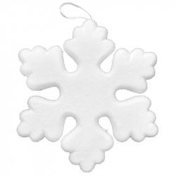 Snöflinga med silverhänge, konstgjord snö