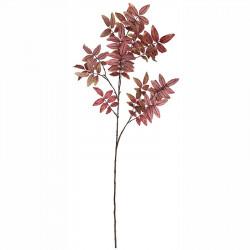 Rönngren, rosa blad, H120cm, konstgjord växt