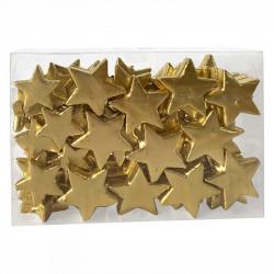 Stjärnor i frigolit till dekoration, 4-5cm