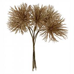 Tistelbukett, guld, 30cm, konstgjord växt