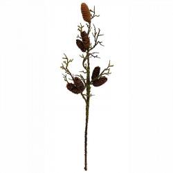 Gren med kottar, äkta gren, 72cm