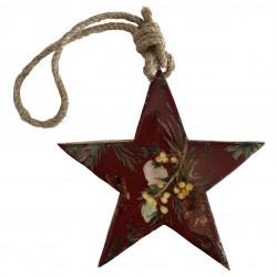 Julgranspynt, Stjärna, Mörkröd/Blommor