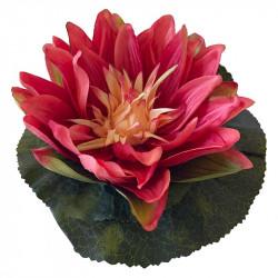 Näckros, röd, 18cm, konstgjord blomma