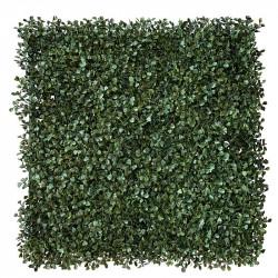 Bladmix platta, buxbom, UV, 50x50cm, konstgjord växt