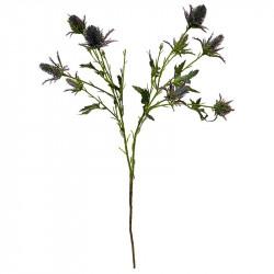 Tistel på stjälk, 67cm, konstgjord blomma
