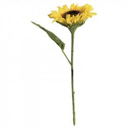 Solros på stjälk, konstgjord blomma